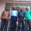 Daniel Mengara, Luc Bengono Nsi et Moukagni Iwangou en conférence de presse ce vendredi 14 août