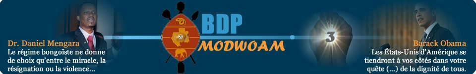 Bongo Doit Partir &#8211; Modwoam